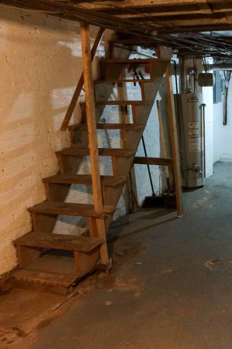 Best Diy Painted Upgraded Basement Stairs An Affordable 400 x 300