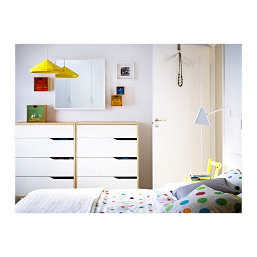 MANDAL Chest of 4 drawers   IKEA. BRIMNES Day bed frame with 2 drawers  black   Warm  Drawers and