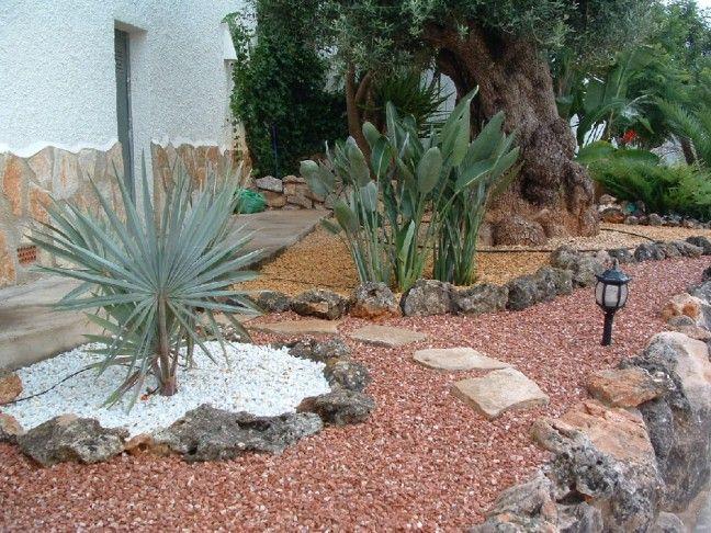 gravilla y piedras - Piedras Jardin