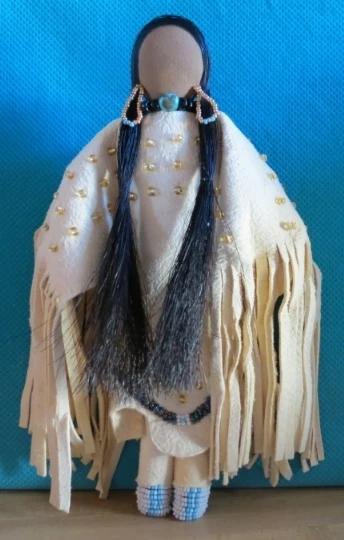 Photo of Golden Bead Woman
