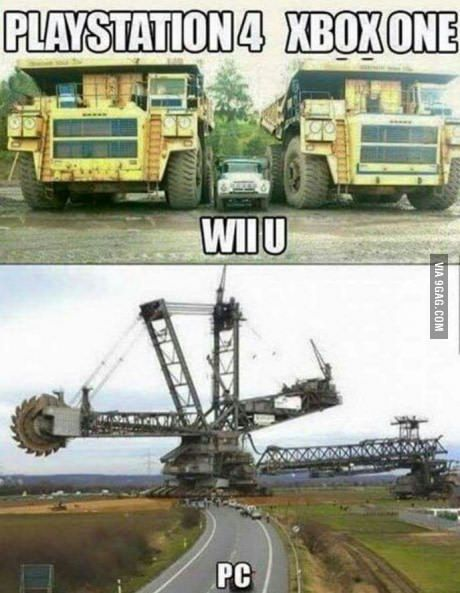 Well here I am on my Wii u,