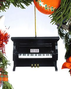 Piano Christmas Tree Ornament - Perfect for small thoughtful gift ...