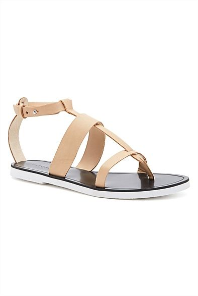305224b137e7 Orson Sandal - I picked these up from Witchery on sale at a great price.  Nothing beats a nude sandal