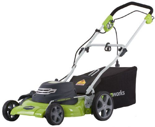 Greenworks 25022 12 Amp 20 In 3 In 1 Electric Lawn Mower At Http