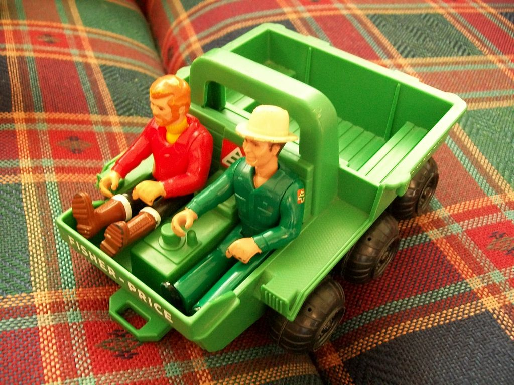 Fisher Price Adventure People Atv Actionfigures Vintage Toys