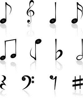 Single Music Notes Symbols 11718 Hd Wallpapers Background