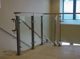 Perfect Glass Guardrail Stairs   Google Search