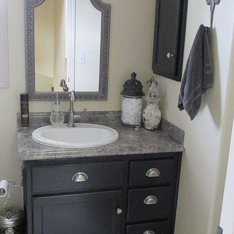 Small Bathroom Cabinets Ideas: Our Bathroom Remodels-2013