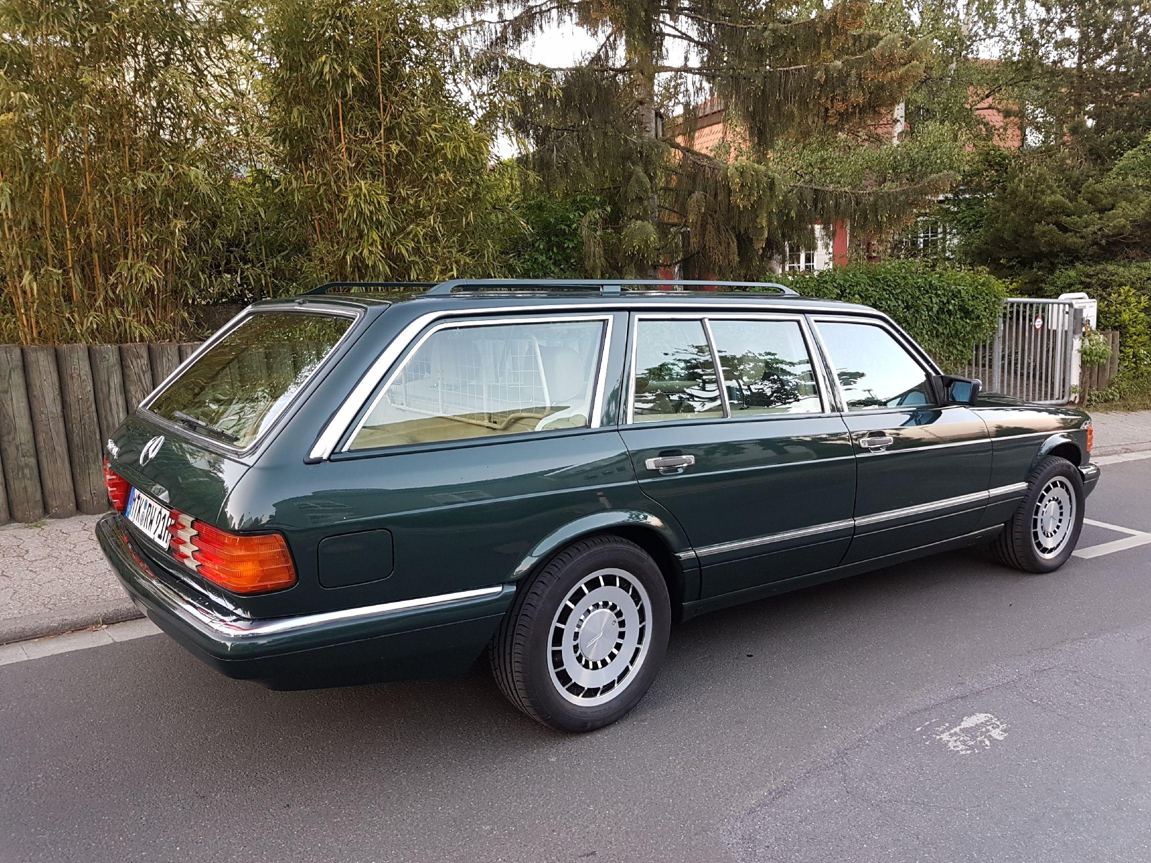1991 Mercedes Benz 560SEL W126 Station Wagon