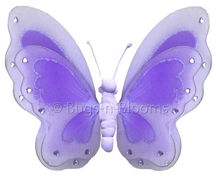 Butterfly Hanging Painted Nylon 3D Wall Decor   Products in 2018 ...