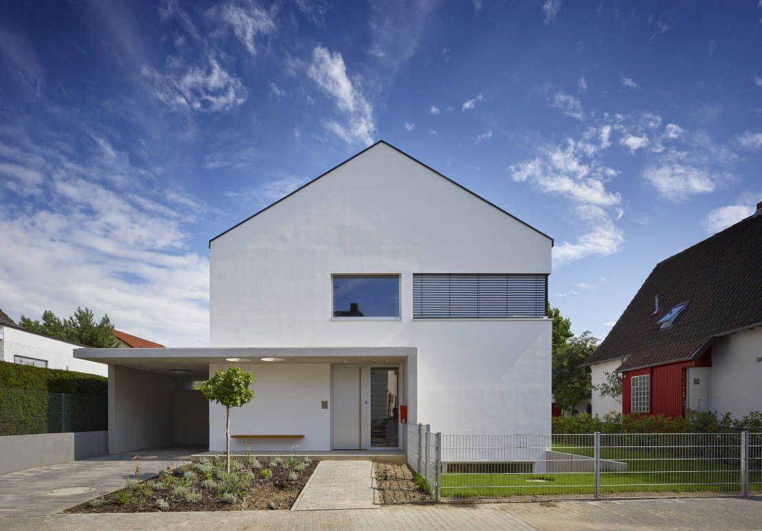Wohnhaus h mainz von marcus hofbauer architekt plattform for Minimalistisches haus grundriss