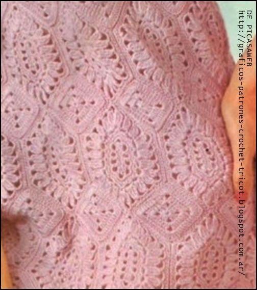 Tejidos a crochet ganchillo crochet para bebe crochet - Colchas ganchillo bebe ...