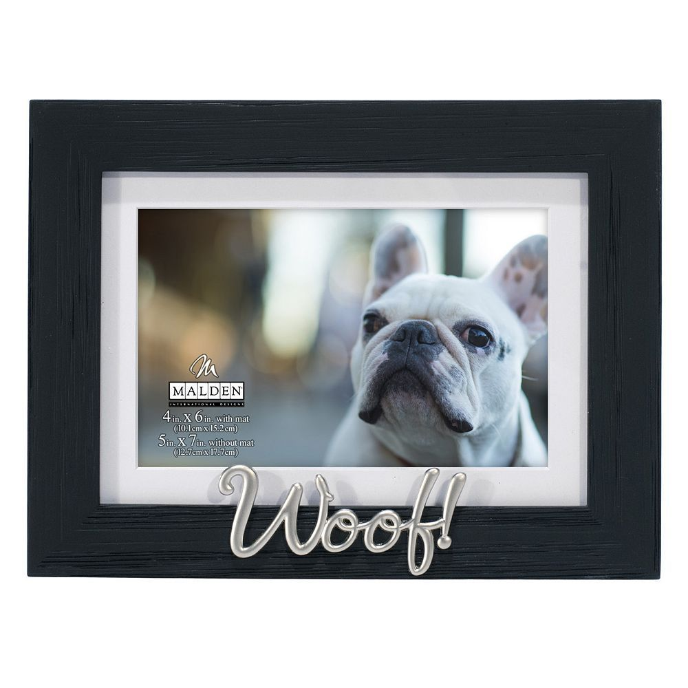 Malden Woof 4 x 6 Distressed Frame