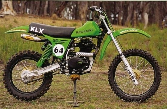 Kawasaki Klx Vintage Bikes Vintage Motocross Motocross Bikes