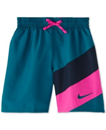 725d2eee3f Nike Big Boys Signal 6 Volley Swim Trunks in 2019   Products   Nike ...