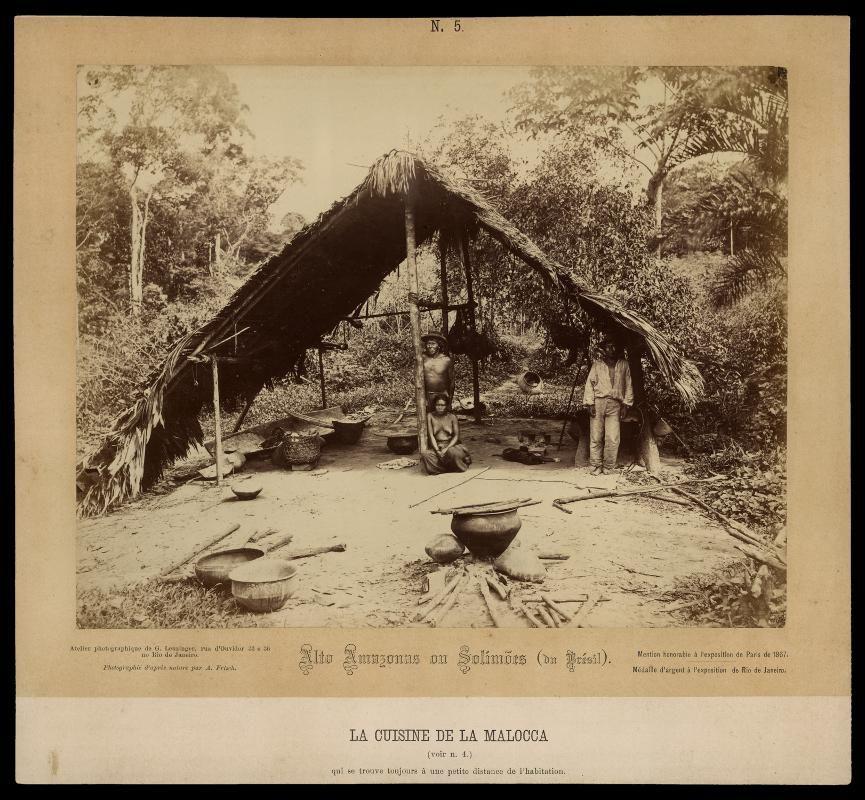 Notícia da viagem do fotógrafo Albert Frisch (31/05/1840 – 30/05/1918) à Amazônia