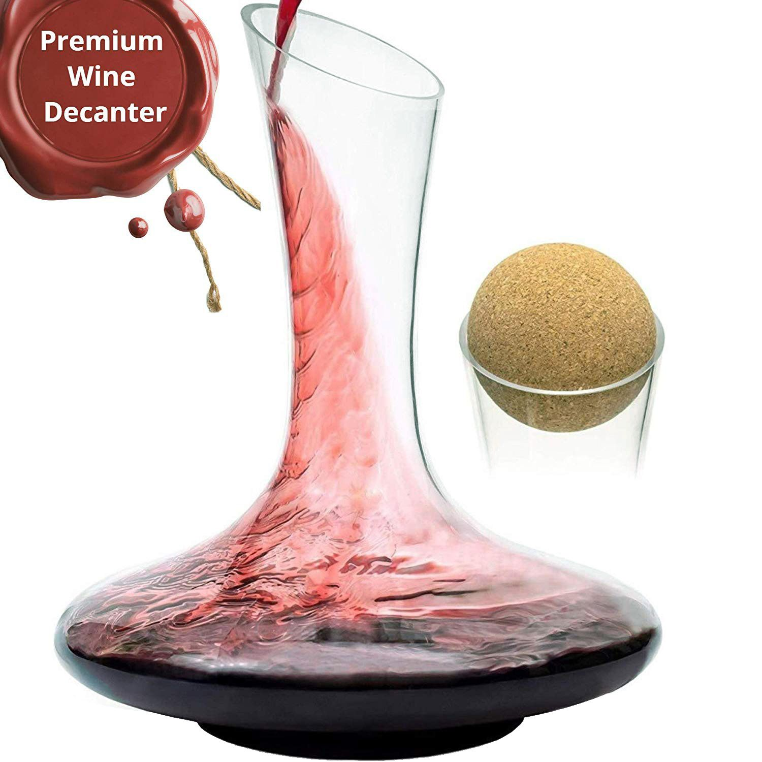 Wine Decanter Set In 2020 Red Wine Decanter Glass Wine Carafe Wine Carafe