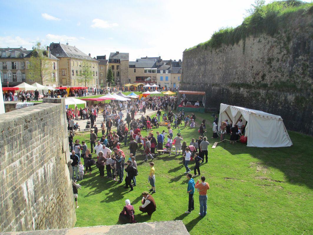 Château Fort de Sedan - Festival Médiéval 20e anniversaire - Du Samedi 16 au Dimanche 17 Mai 2015