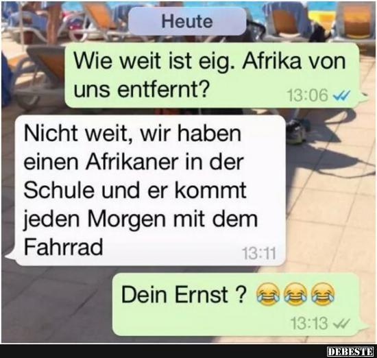 Witze afrikaner Die besten