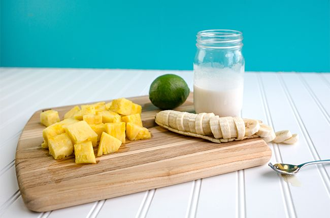 Tropical Pineapple Popsicle
