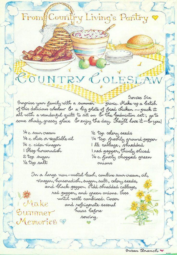 country coleslaw kitchen pinterest rezepte. Black Bedroom Furniture Sets. Home Design Ideas