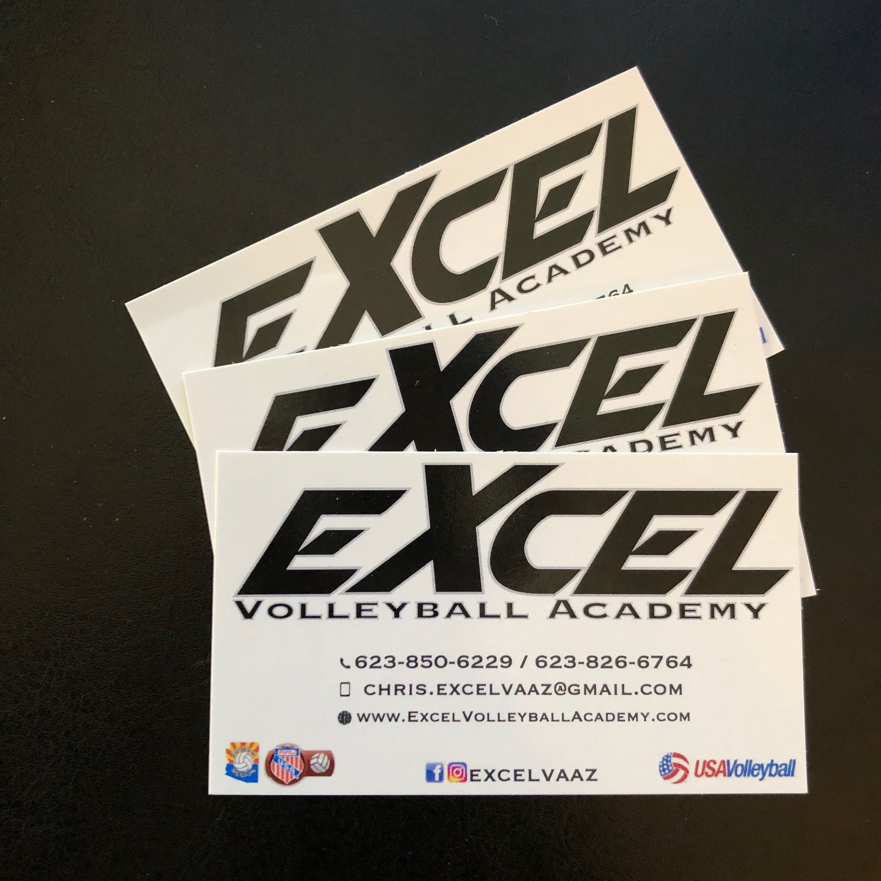Business Cards We Printed For Excel Volleyball Want The Best Quality When It Comes To Printing And Design Visit Us Online Www L Logic Prints Things To Come