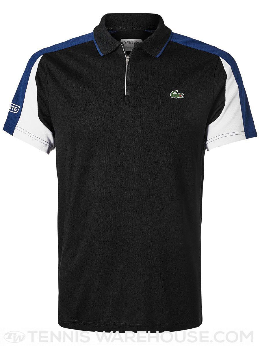Lacoste Men S Fall Colorblock Zip Polo Mens Fall Mens Sportswear Lacoste