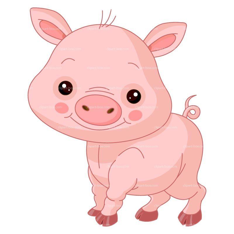 CLIPART CUTE PIG
