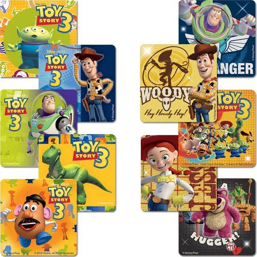 Disney Toy Story Sticker Pack - Birthday Party Favors - 1…