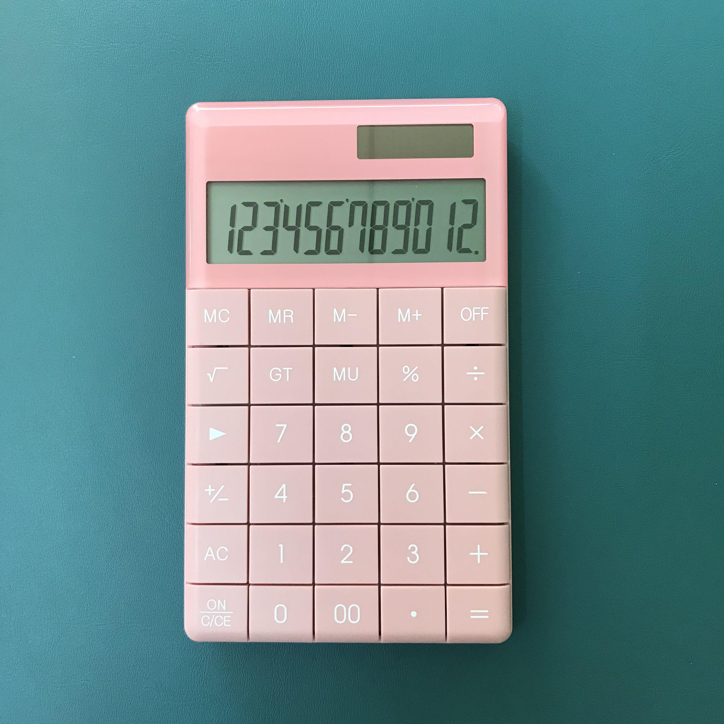 Desktop Calculator Painting Ideas design #pink #aesthetic ...