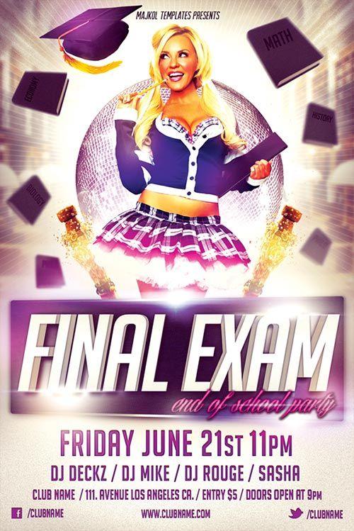 free download at http flyersonar com free flyer final exam flyer