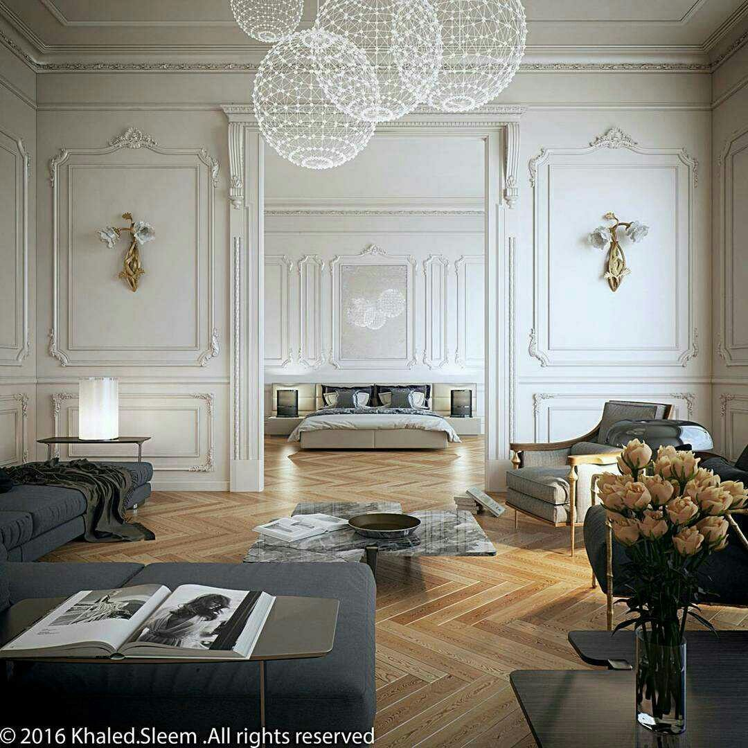 Neoclassical Interior Design Pin By Наталья Avs On Гипс Молдинг Appartement Maison