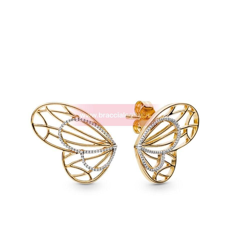 pandora goccia con farfalla