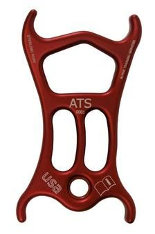 The ATS device is a versatile belay and rappel device designed for both rock climbing and canyoneering. This unique device accommodates the need for various friction settings on rappel and belay, as well as auto lock-off belay options. The ATS incorporates the best parts of a tube or plate device and a figure 8 with 'hyper-horns' into one compact durable frame. Want!!!!!