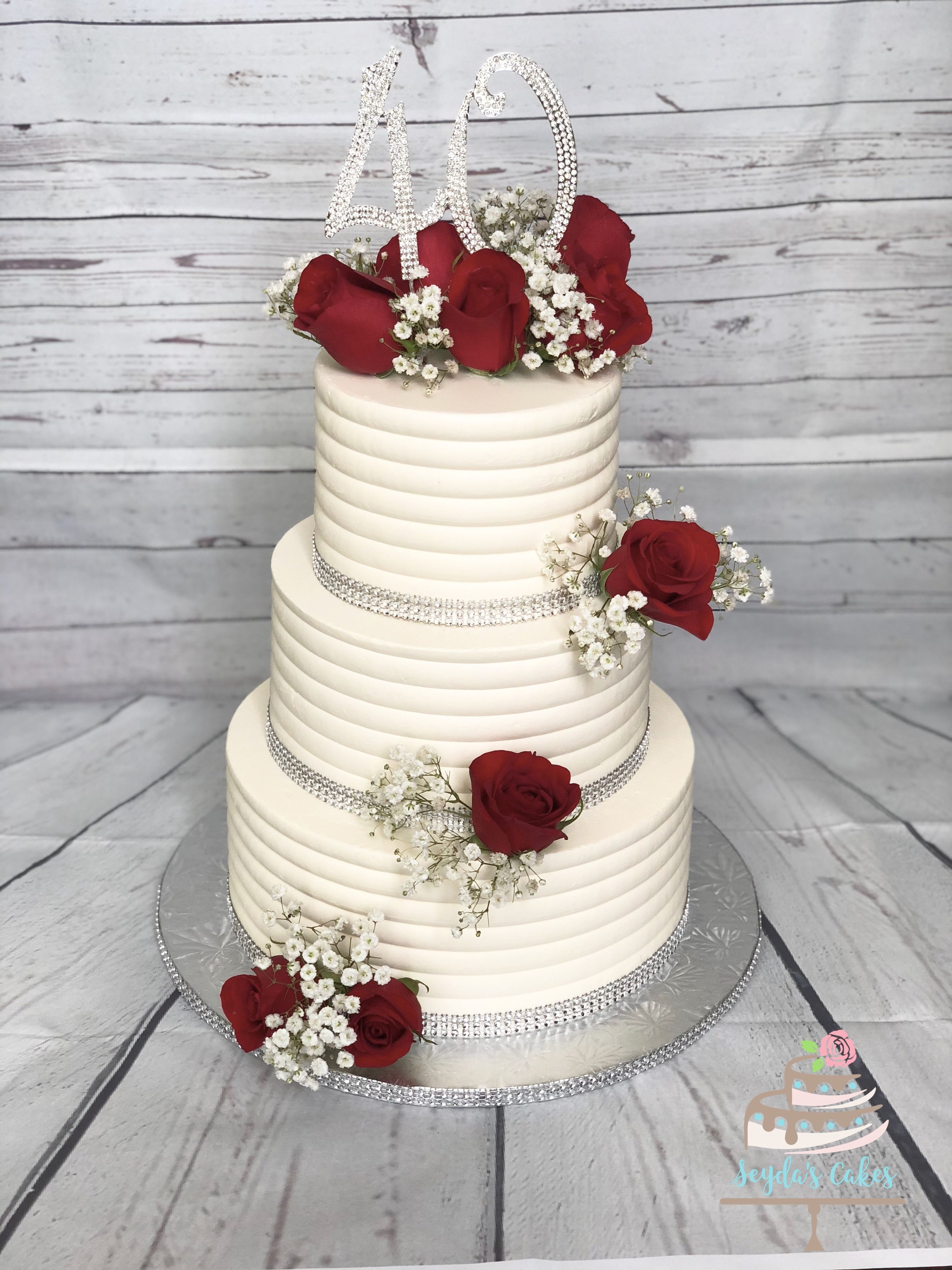 Creative Anniversary Cake Ideas Pictures Romantic Anniversary Cake