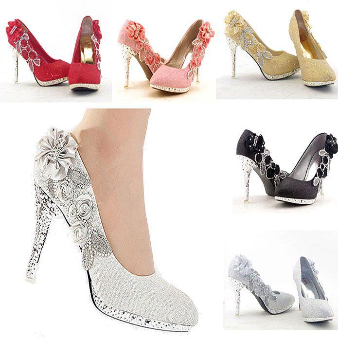 Wedding high heels wedding shoes pinterest sparkly wedding wedding high heels solutioingenieria Choice Image