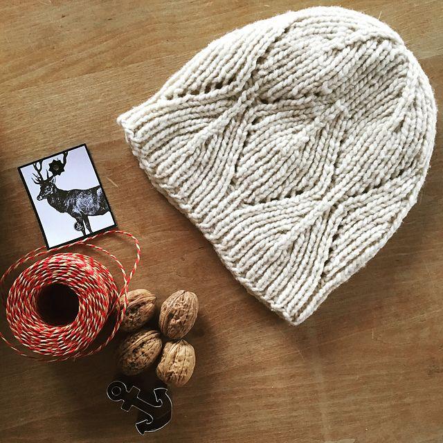 Chunky Walnut pattern by Katrin Schubert | Labores