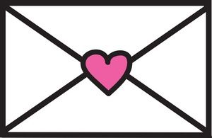 Love Letter Clipart Image Love Letter  Envelope Sealed With A