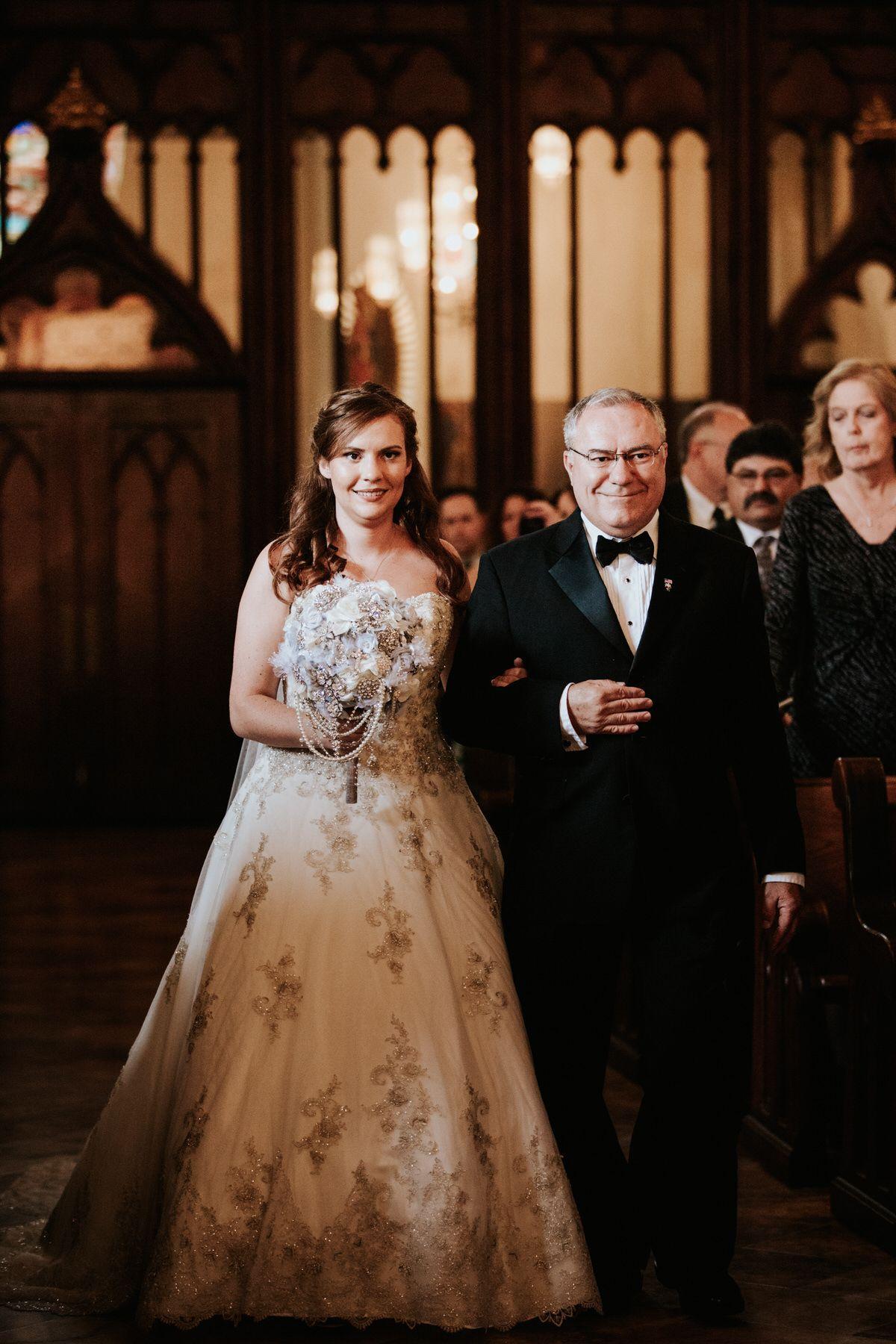 Catholic wedding dresses  Jessica  Marcelo  St Maryus Cathedral  DoubleTree Hotel Wedding