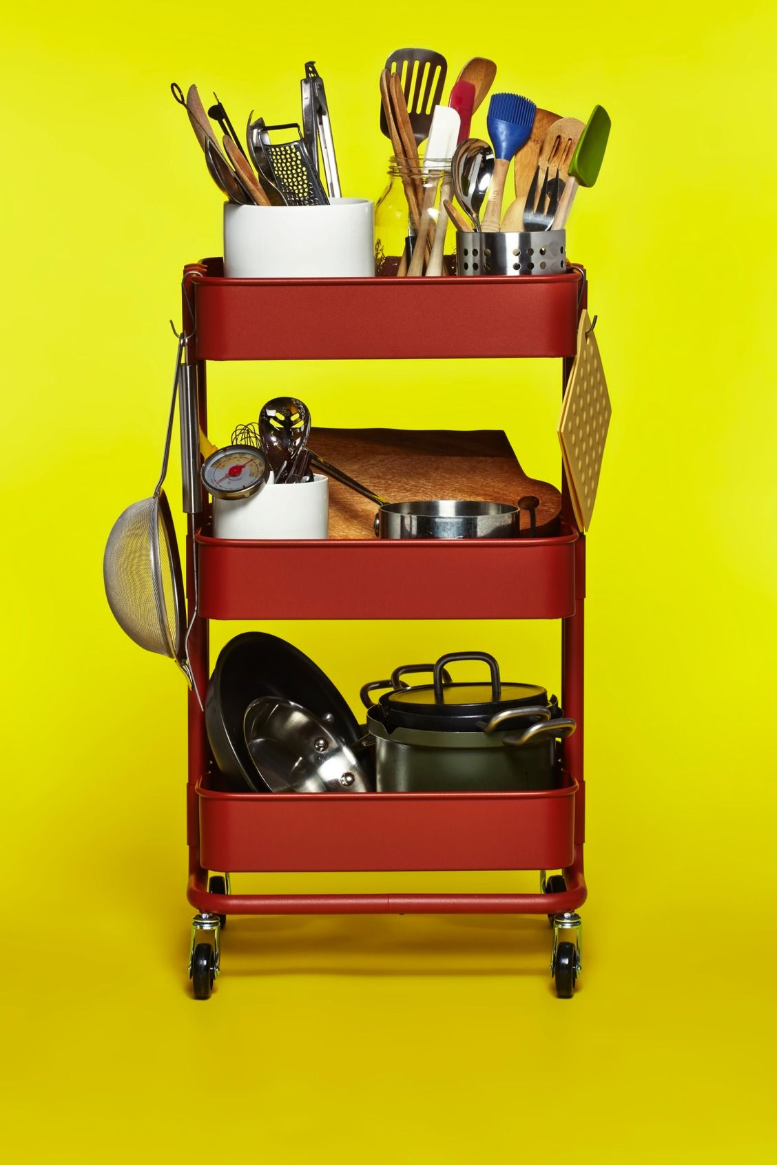 Aufbewahrung Küchenutensilien Ikea The Ikea RÅskog Cart As Mobile Kitchen Tool Box Diy