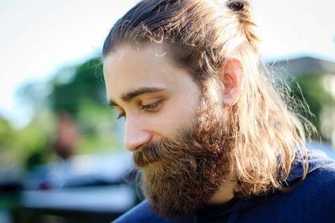 How to Make Your Curly Beard Straight with Pro Straightening