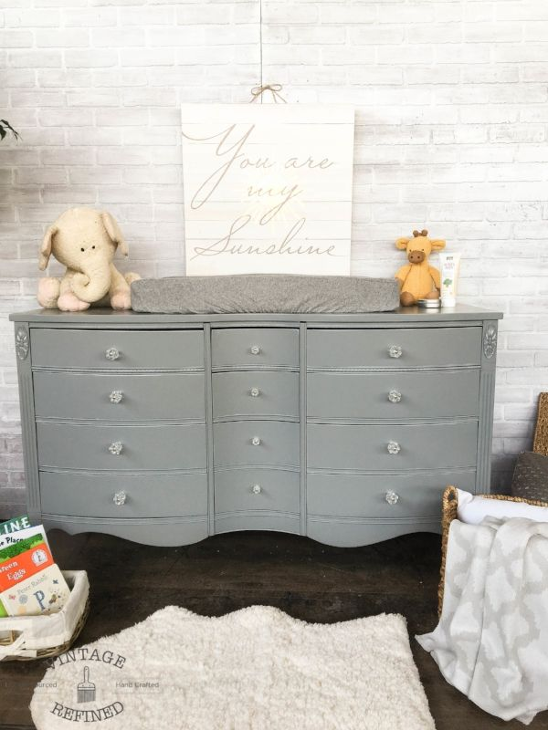 Grey Changing Table Grey Changing Table Nursery Changing Table