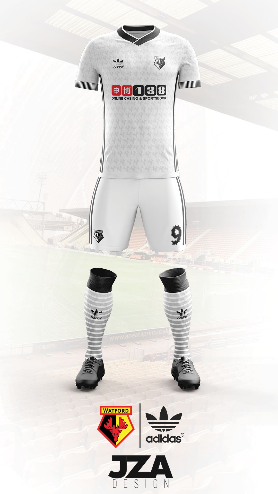 Watford 17 18 Adidas Kit Concept on Behance  a7dfa008e