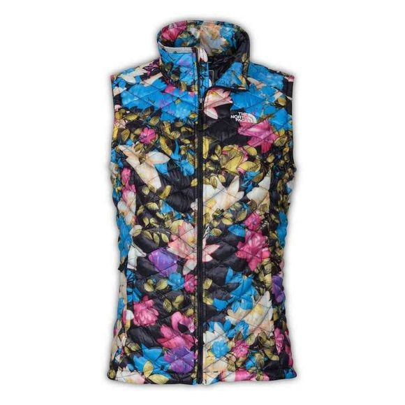 Northface vest Floral print thermoball northface vest. Perfect condition never worn. Bought brand new. The North Face Jackets & Coats Vests