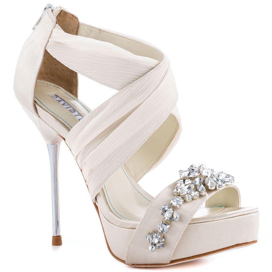 Bouquet Ivory David Tutera 214 99 Bride Shoes Ivory Bridal Shoes Ivory Wedding Shoes