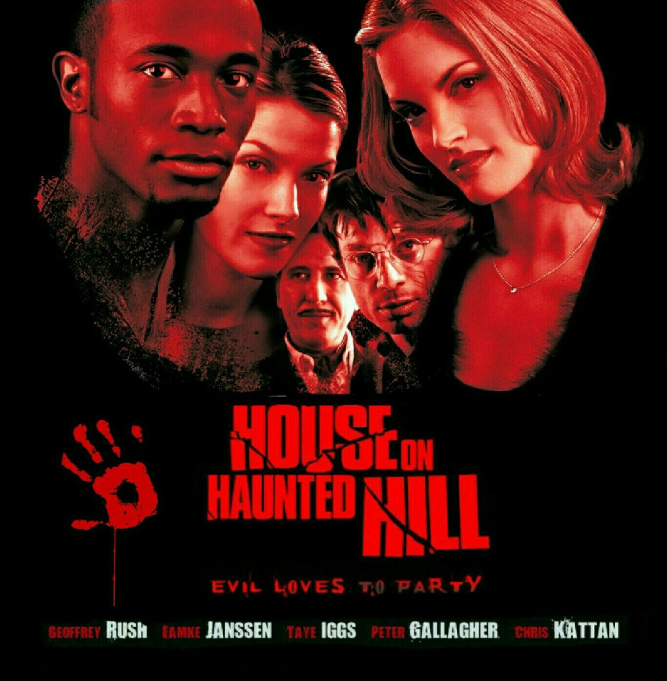 House On Haunted Hill 1999 Horror Movie   House on haunted hill ...