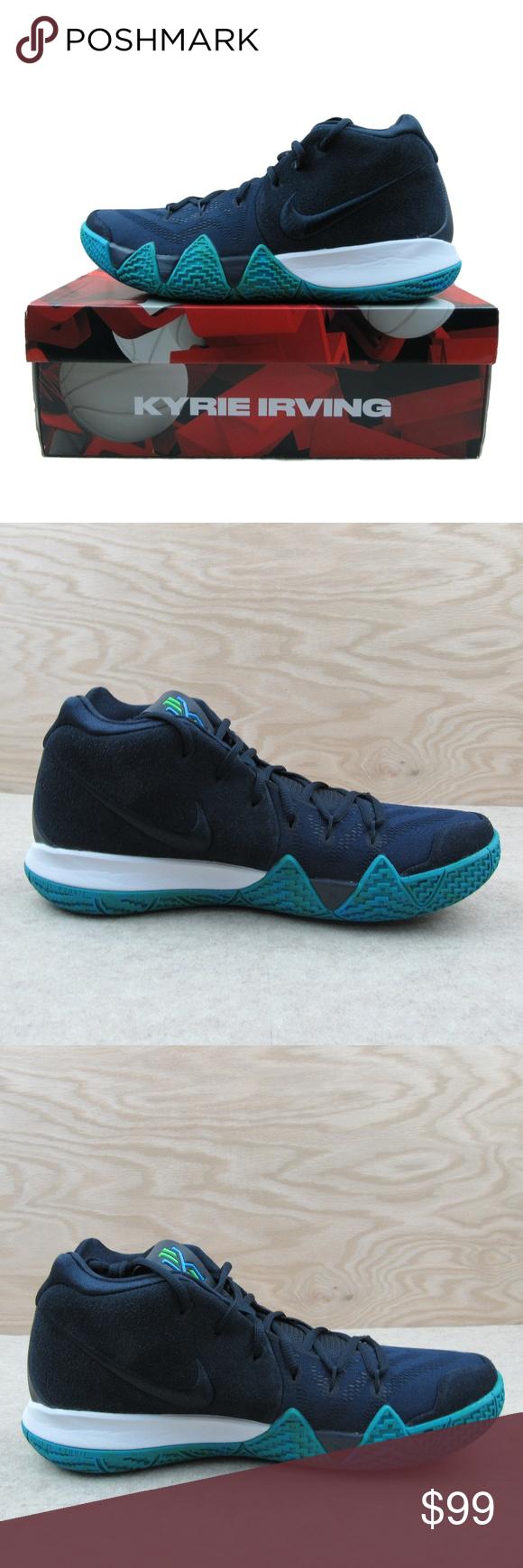 Nike Kyrie 4 Think Twice Obsidian Navy