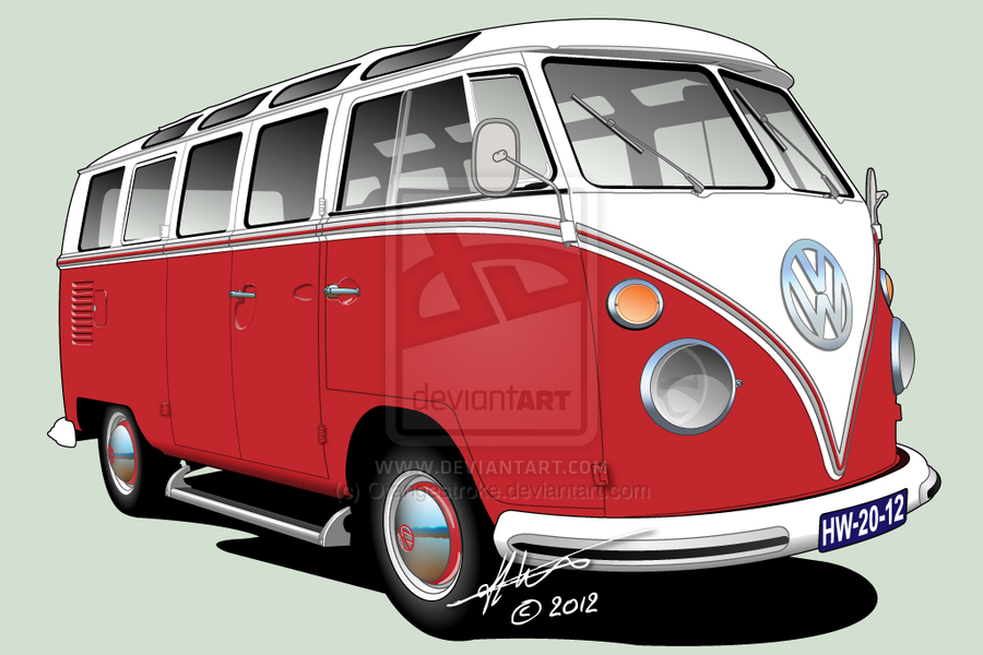 vw t1 21 window deluxe by orangestroke on deviantart vw. Black Bedroom Furniture Sets. Home Design Ideas