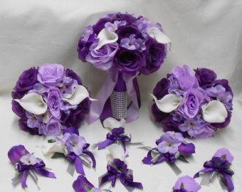 #bridalbouquetpurple
