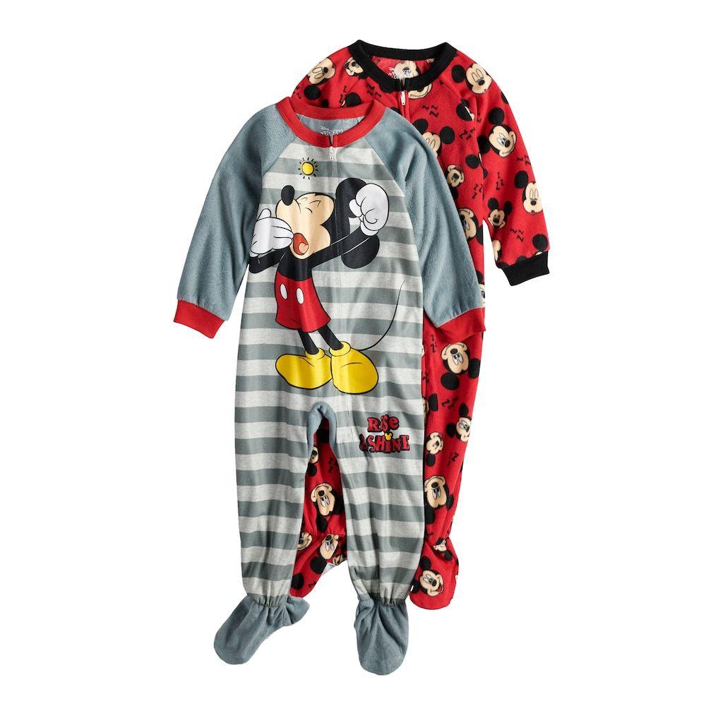 Toddler Boy Disneys Mickey Mouse Plush Robe